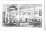 The boiler shop of the Penn and Son Works at Deptford Pier by unknown