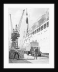 Loading the 'Corfu' at the King George V Dock by unknown