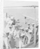 Somali crewmen on the quaterdeck of HMS 'Venus' in Singapore in 1916 by unknown