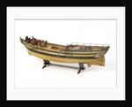 Full hull model of a merchant brig (circa 1795) by unknown