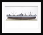'A J Cassatt', starboard broadside by John R. Haynes