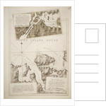 Chart of Oyster Bay and Huntington Bay, Long Island Sound by Joseph Frederick Wallet Des Barres