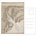 Chart of Port Royal in South Carolina, United States of America by J.F.W. Des Barres