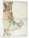 Chart of Ipswich Bay and Cape Ann, Atlantic coast of North America by J.F.W. Des Barres