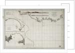 Chart of South America and the Atlantic Coast by Juan de Langara