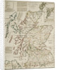A commercial map of Scotland with the roads, stages and distances by J. Knox