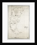 Map of Chile, Patagonia, Tierra del Fuego and the Falkland Islands by Juan de Langara