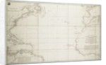 A general chart of the Atlantic Ocean north of the Equator by Deposito Hidrografico