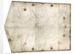 Portulan chart constructed by William Borough showing the sea area of the North Sea and Baltic, from the east coast of England to the head of the Gulf of Sweden, circa 1580 by William Borough