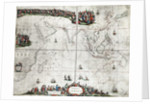 Map of the East Indies by Pieter Goos