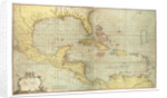 Chart of the West Indies by Joseph Smith Speer