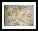 Chart of Romney Marsh by Elhanan Tucker