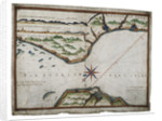 Chart of Dover Strait by Luis Teixeira