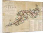 Plan of Tortola from survey by George King by George King