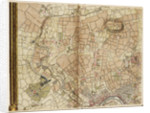 Map of Greenford, Osterley, Ealing and Kew by John Rocque