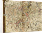 Map of Hounslow, Twickenham and Richmond by John Rocque