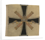 Command flag, Admiral of the Fleet, Imperial Germany (before 1919) by unknown