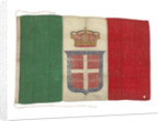 Italian naval ensign (before 1946) by unknown