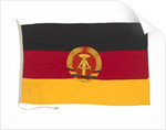 National flag of the German Democratic Republic (1959-1990) by unknown