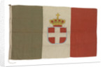 Italian naval ensign by unknown