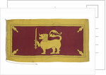 National Flag of Ceylon (1948-1951) by unknown