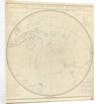 Chart of the southern hemisphere, post Cook by Georg Forster