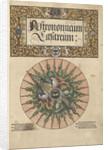 Frontispiece of 'Astronomicum Caesareum', 1540 by unknown