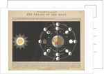 Transparent diagram of the phases of the moon by James Reynolds