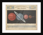Comparative magnitude of the planets by James Reynolds