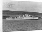Destroyer 'Sultanhisar' (Turkey) under way by unknown