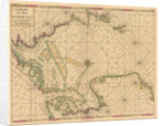 Chart of the North Sea: Norway to the Dover Straits by Mount & Page