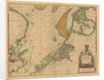 A chart of the North Sea from South Foreland to Burnham Flatts, and from Callis to Schelling Isle by Mount & Page