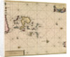 Chart of Orcades Eylande (Orkneys) from van Keulen's 'Great and Newly Enlarged Sea Atlas', 1682 by Johannes van Keulen