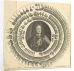 George I with his fleet circling around him by unknown