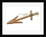 Anchor model - wooden killick - Greek/Roman by unknown