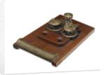 Anchor winch model; Capstan model by Harfield & Company Ltd