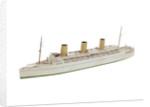 Waterline model; Rigged model; Miniature model by Bassett-Lowke Ltd