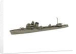 Waterline model; Miniature model by Wikino