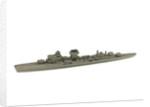 Waterline model; Miniature model by unknown