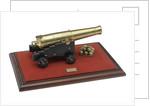 Ordnance model; Gun model by G. R. Palmer
