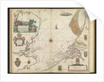 A chart of the sea coasts of England, Flanders and Holland by John Seller