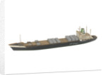 Cargo vessel; Container ship by Reginald Carpenter