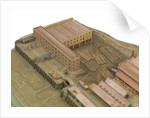 Topographical model by Richard Pickthorne