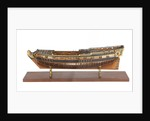 Model of the 'Rose' (1706), warship, sixth rate, sloop, 20 guns by unknown