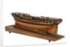 Model of a 36 gun frigate by unknown