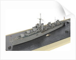 HMS 'Barfleur' (1943); Warship; Destroyer by Norman A. Ough