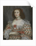 An unidentified young lady of the time of Charles I by English School