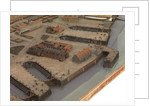 Topographical model of Chatham Dockyard, 1772-1774 by William Phillips