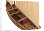 A recreational sailing dinghy, 'RNSA' 14 (1920) by unknown