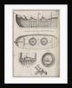 Bomb vessel plans, plate from 'Memoires d'Artillerie' by Pierre Surirey de Saint Remy by unknown